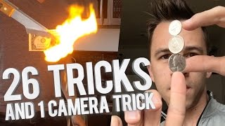 26 Magic Tricks, and 1 Camera Trick