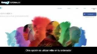Prueba escuchar música gratis con Rdio - Tutorial - Mp3.es