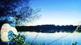 Балдею у костра УРА Сезон открыт Ночь на реке Рыбалка на фидер весной
