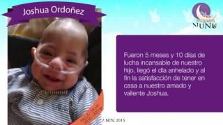 Joshua Ordoñez-Testimonio Día Internacional del niño prematuro