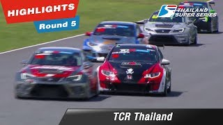 Highlights TCR Thailand  : Round 5 @Chang International Circuit