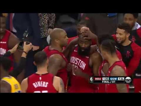 Houston Rockets vs Golden State Warriors | January 3, 2019