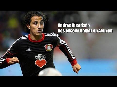 Andrés Guardado nos enseña hablar en alemán