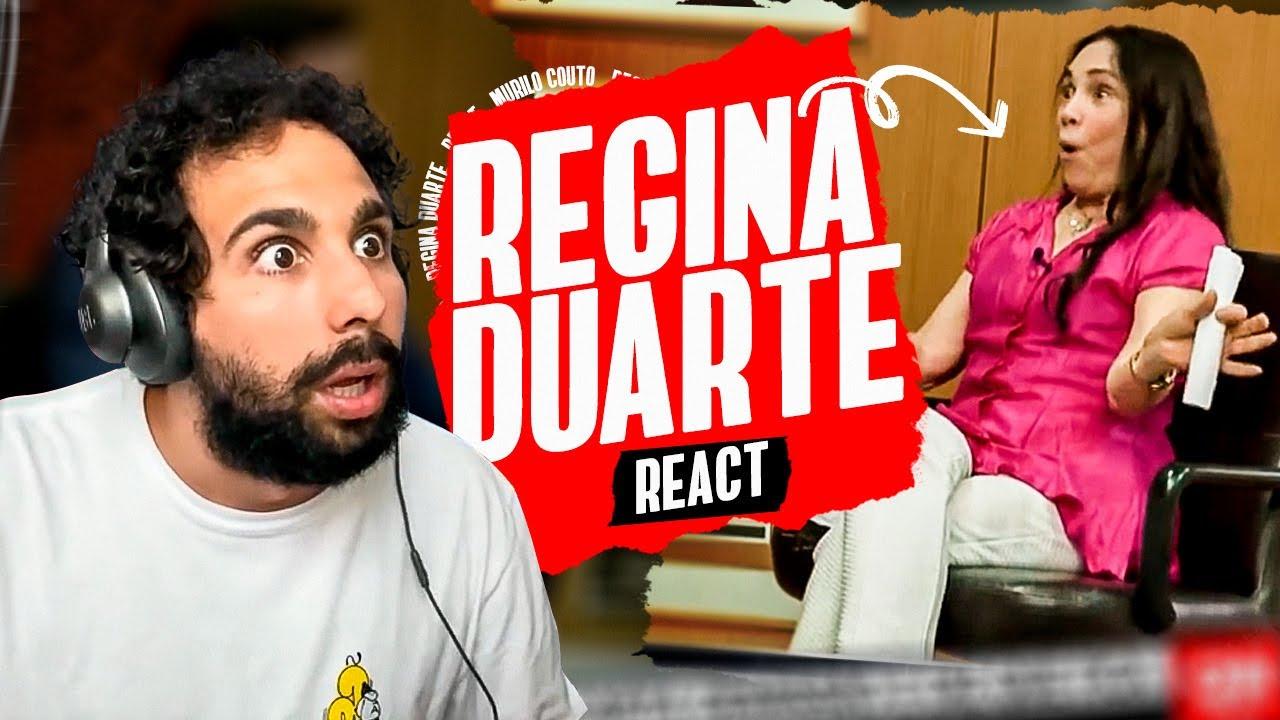 REGINA DUARTE LANÇOU A BRABA - REACT