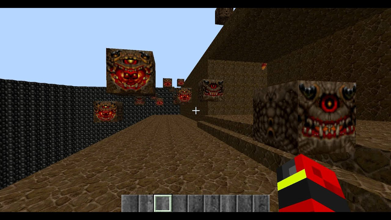 Icon of sin in Minecraft!!!!! (D00M II)