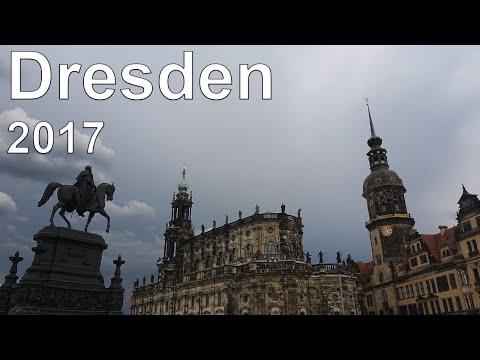 [4K] Dresden & Prague 2017: Dresden Highlights
