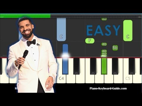 Drake Nice For What Easy Piano Tutorial - How To Play