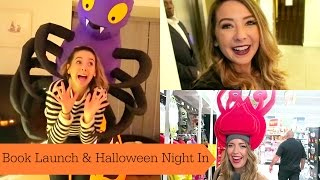 Book Launch & Halloween Night In | ad