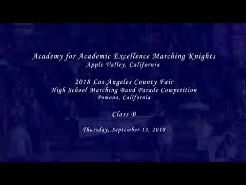 Academy for Academic Excellence - 2018 LACF Marching Band Competition