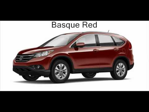 2012 Honda Crv Colors Youtube