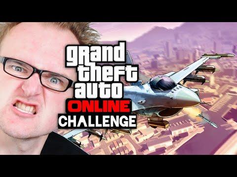 Challenge: Jet KLAUEN 🎮 Grand Theft Auto Online #172
