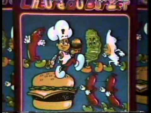 Burger Time Commercial (1983)