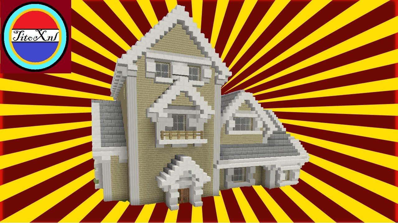 Minecraft een groot huis maken nederlands youtube for Huis maken minecraft