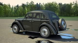 3D Model of Opel Kadett Review