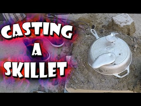Thumbnail: Casting An Aluminum Skillet From Start To Finish