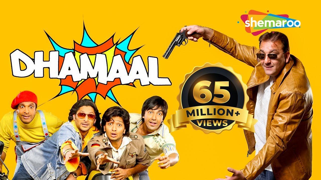 Download Dhamaal (2007) (HD) Hindi Full Movie - Ritesh Deshmukh - Arshad Warsi - Javed Jaffrey - Sanjay Dutt