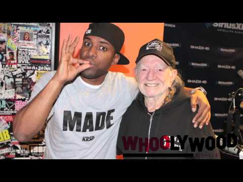 WILLIE NELSON vs DJ WHOO KID on the WHOOLYWOOD SHUFFLE on SHADE 45