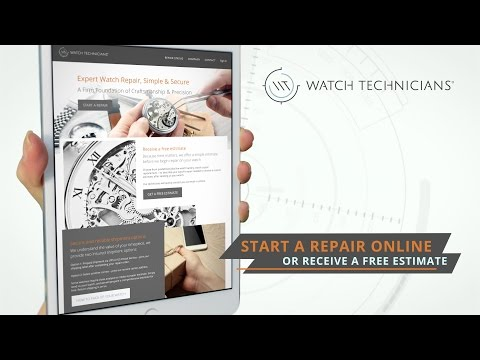 Watch Technicians - Watch Repair Service...