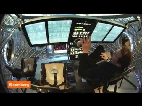 Inside the New SpaceX Dragon V2 Spacecraft