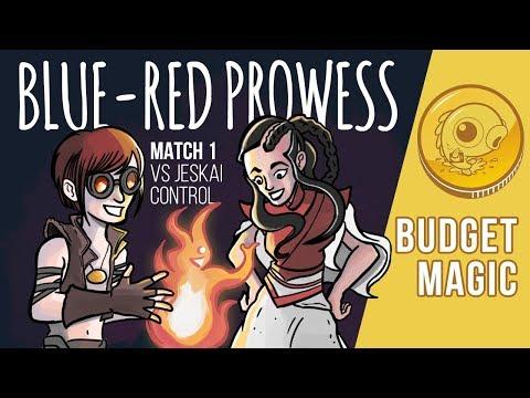 Budget Magic: UR Prowess vs Jeskai Control (Match 1)