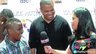 Omar Gooding and Bentley Evans Jr. of