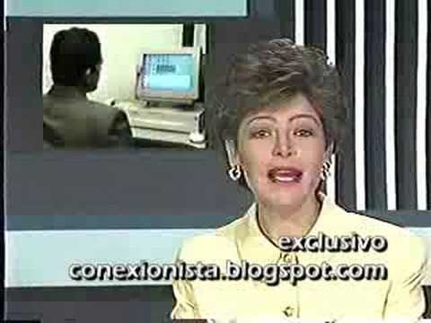Noticia De La Llegada Del Chat A Colombia. 1996