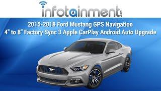 2015-2018 Ford Mustang GPS Navigation 4
