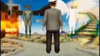 Cennet Ve Cehennemi Anlatan Animasyon