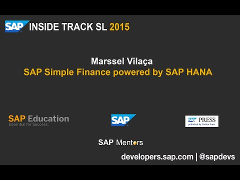 SITSL 2015 : Marssel Vilaça - Simple Finance