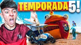 ¡REACCIONANDO A LA *TEMPORADA 5* Y SUBIENDO EL PASE A NIVEL 100! - Agustin51