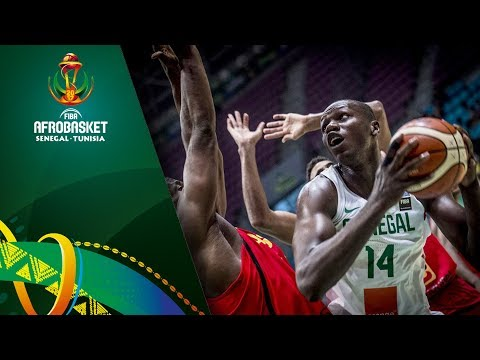 Senegal v Angola - Highlights - Quarter-Final - FIBA AfroBasket 2017