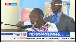 Prof Ngugi Wa Thiong'o leads a drive on books written in vernacular at Maseno University