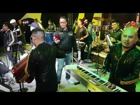Mexikolombia en Magdalena Contreras cantando ( Alejate de mi ) y más