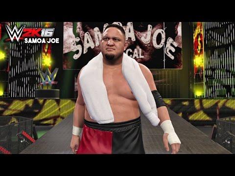 WWE 2K16 - Samoa Joe Official Entrance, Signature & Finisher!