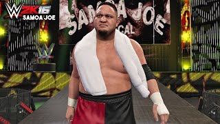 WWE 2K16 - Samoa Joe Official Entrance, Signature & Finisher!
