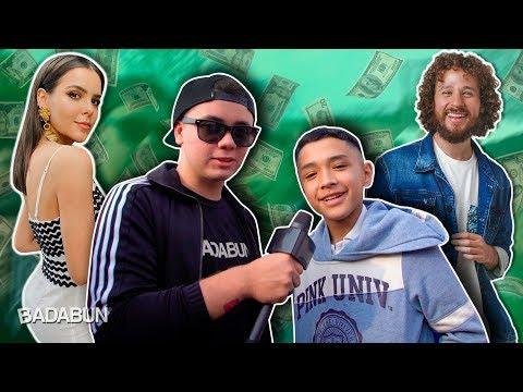 ¿Qué YouTuber crees que sea el más rico?