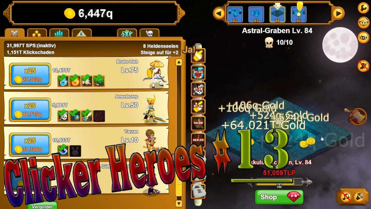Clicker Heroes Spielen