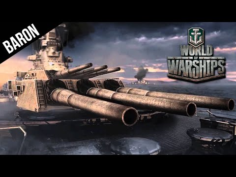 World of Warships Battleship Gameplay - Burning Love!