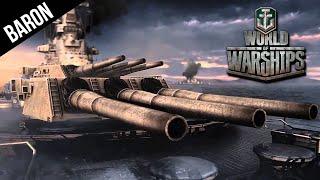 World of Warships Battleship Gameplay - Burning Love!