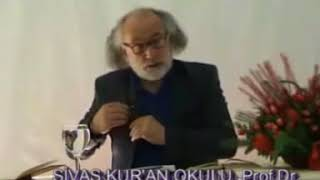 Sivas Kur'an Okulu /  Prof . Dr  İlhami Güler