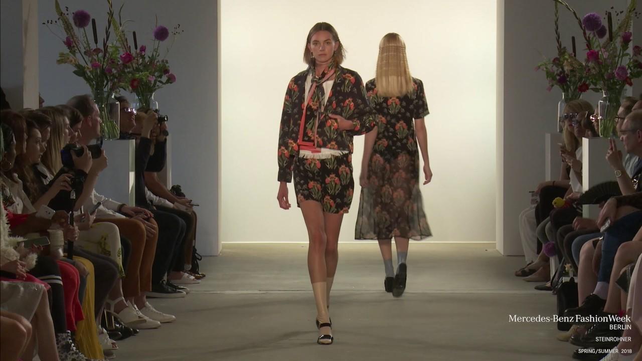 Steinrohner mercedes benz fashion week berlin ss18 youtube for Mercede benz fashion week