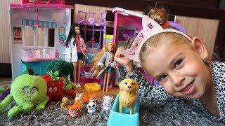 BARBIE - GANG ŚWIEŻAKÓW 2 - JUNIORKI W LECZNICY ZWIERZĄT - Bajki dla dzieci po polsku