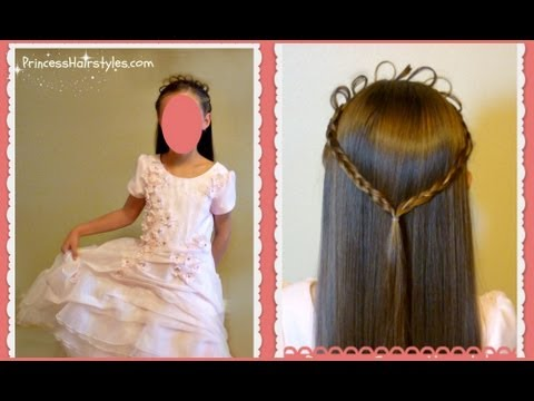 Princess Crown Hairstyle Halloween Hair Ideas Youtube