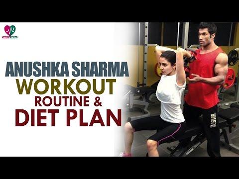 Anushka Sharma Workout Routine, Diet Plan | Womens Health | - Health Sutra