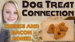 Dog Treat Connection - Cheese & Bacon Bones - All Natural & Healthy Dog Treats