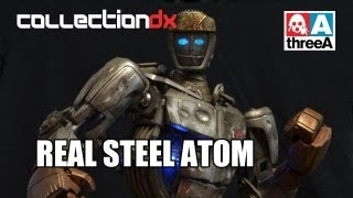 threea x dream works real steel atom sample review collectiondx