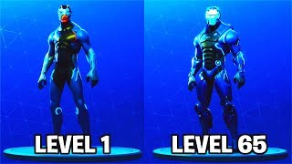 "CARBIDE LEVEL 65 ""FULL ARMOR"" UNLOCKED! Fortnite Season 4 Battle Pass Custom Skin"