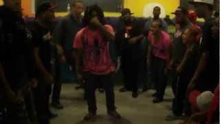Tight Eyez VS Slicc aka J Doomsday [ROUND 1] @ XMDC Session 8/6/2012