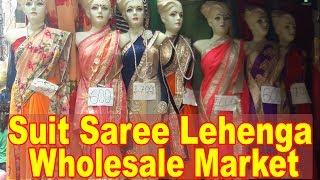 Suit Saree Lehenga Wholesale Market | Explore - Wedding Collection, Casual Sarees | Go Girls....