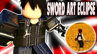NEW SWORD ART ONLINE GAME IN ROBLOX! | SWORD ART ECLIPSE ALPHA | iBeMaine